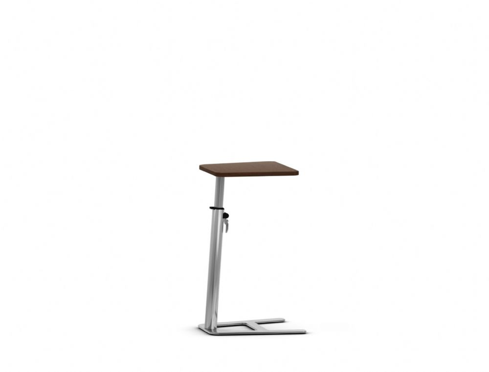 Pledge Mast Height Adjustable Table With MFC Wooden Top